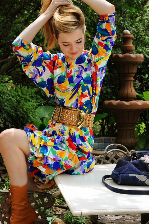 Jane Flowery Dress